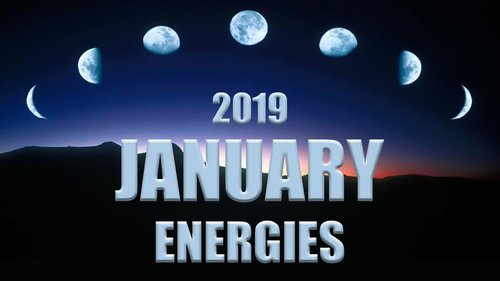 JANUARY ENERGIES 2019: The Lunar Path, Third Eye Activations & Balance of the DM/DF