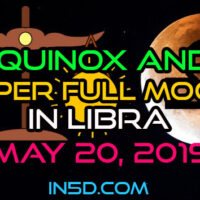 Spring Equinox & Super Full Moon In Libra