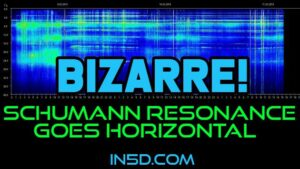 Bizarre! Schumann Resonance Goes Horizontal