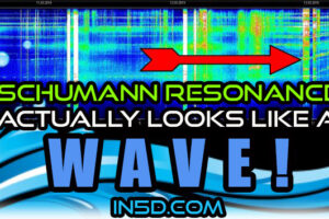 Schumann Resonance Actually LOOKS Like A Wave!