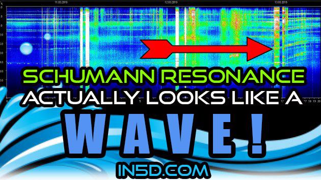 Schumann Resonance Actually LOOKS Like A Wave!