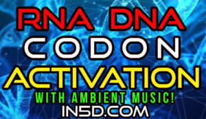 1 Hour DNA RNA Codon Activation Mantra WITH AMBIENT MUSIC!