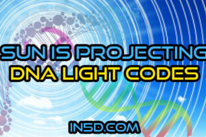 Sun Is Projecting DNA Light Codes