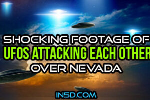 Shocking Footage Of UFOs Attacking Each Other Over Nevada