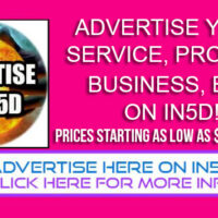 Advertise On In5D – Prices Start at $100 Per Month!