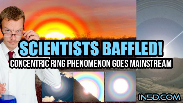 Scientists Baffled - Concentric Ring Phenomenon Goes Mainstream