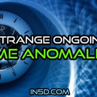 Strange Ongoing Time Anomalies