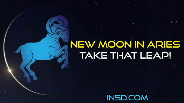 New Moon In Aries: Take That Leap!