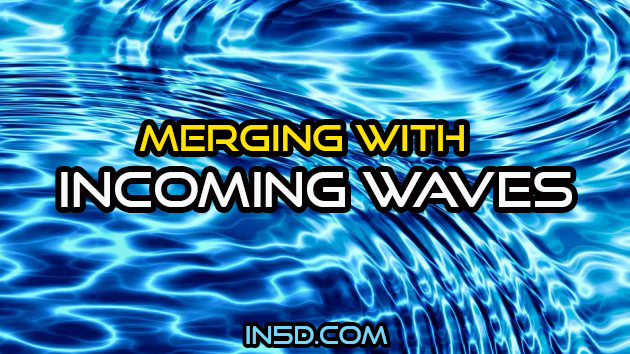 Merging With Incoming Waves