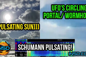 AMAZING Concentric Plasma Photo, UFO's Circling a Portal, Demons, and MORE!!!