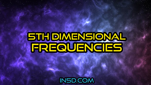 Fifth Dimensional Frequencies