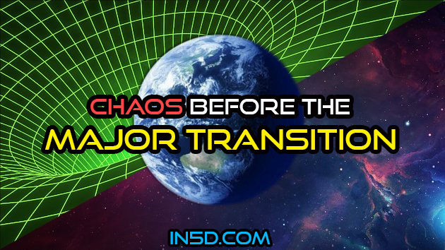Chaos Before The Major Transition