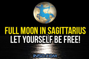 Full Moon In Sagittarius: Let Yourself Be Free!