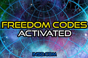 Freedom Codes Activated