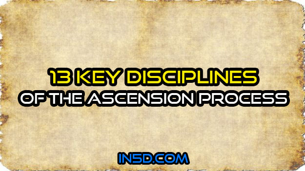 13 Key Disciplines Of The Ascension Process