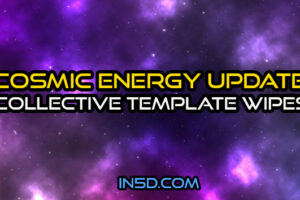 Cosmic Energy Update – Collective Template Wipes