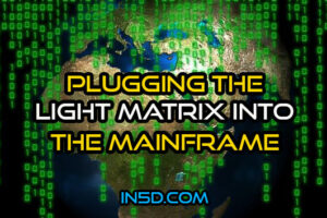 Plugging The Light Matrix Into The Mainframe