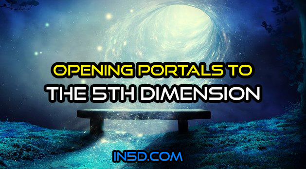 Opening Portals To The 5th Dimension