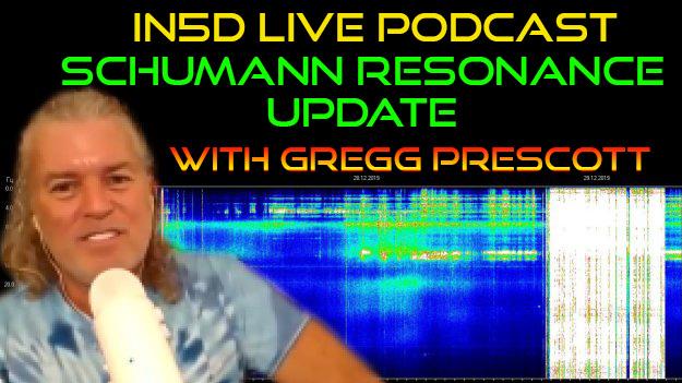 In5D Live Podcast with Gregg Prescott- Schumann Resonance Update
