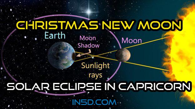 Christmas New Moon - Solar Eclipse In Capricorn