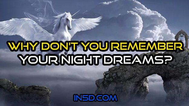 Why Don't You Remember Your Dreams?