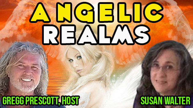 Susan Walter - The Angelic Realm!  In5D LIVE!