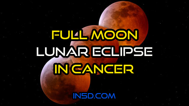 Full Moon/Lunar Eclipse In Cancer