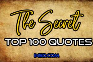 THE SECRET – Top 100 Quotes