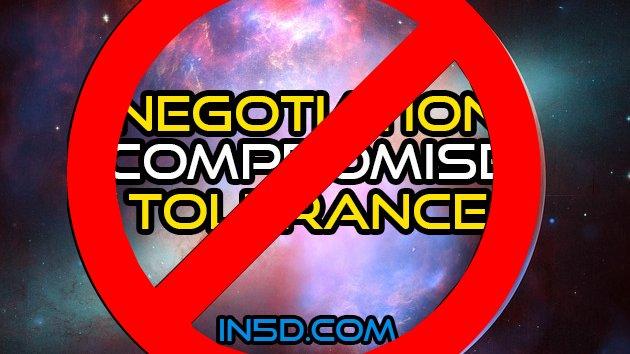No Negotiation, No Compromise, No Tolerance