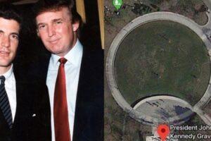 JFK Jr, Trump, Q Connection