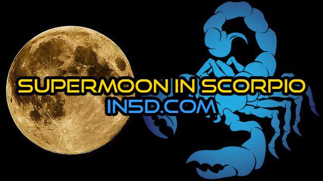Supermoon In Scorpio