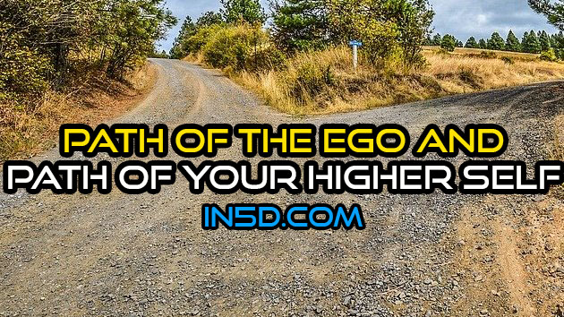 Path Of The Ego And Path Of Your Higher Self