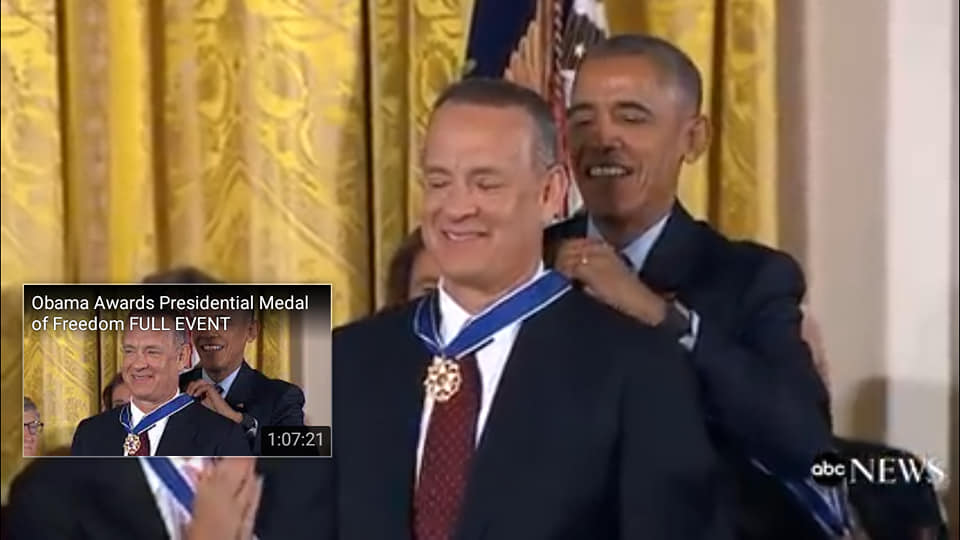 A known predator giving an honorary award to a Satanic.
