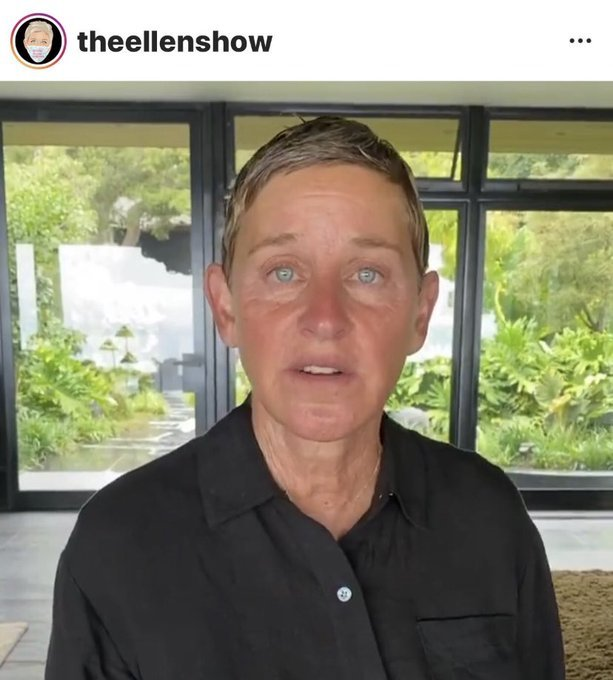 Look at Ellen NOW.  She's not looking too good.  Is that even her or a clone?