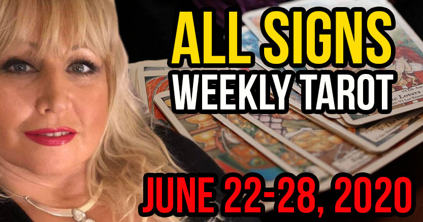 Alison Janes June 22-28, 2020 Weekly Tarot - All Signs