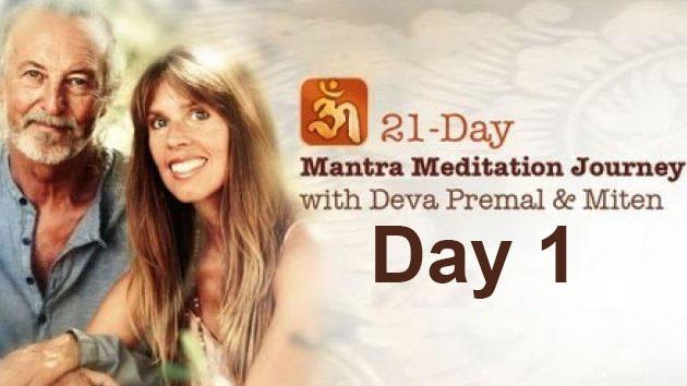 Deva Premal & Miten: 21-Day Mantra Meditation Journey - Day 1