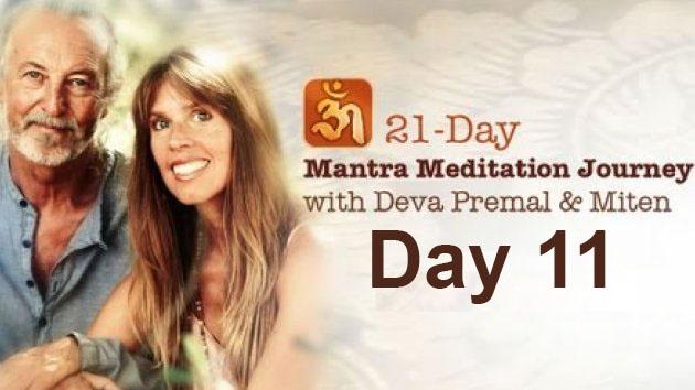 Deva Premal & Miten: 21-Day Mantra Meditation Journey - Day 11