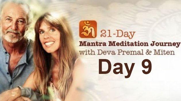 Deva Premal & Miten: 21-Day Mantra Meditation Journey - Day 9