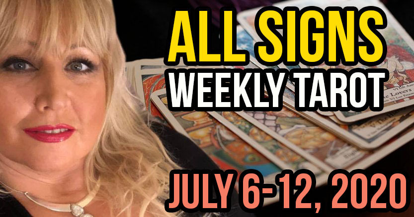Alison Janes July 6-12, 2020 Weekly Tarot - All Signs