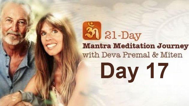 Deva Premal & Miten: 21-Day Mantra Meditation Journey - Day 17