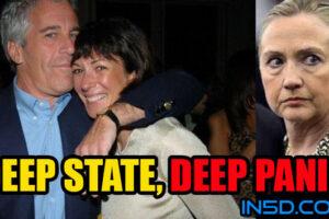 Deep State in DEEP PANIC!