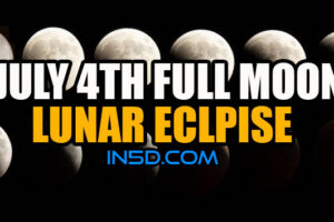 Independence Day Capricorn Full Moon/Lunar Eclipse