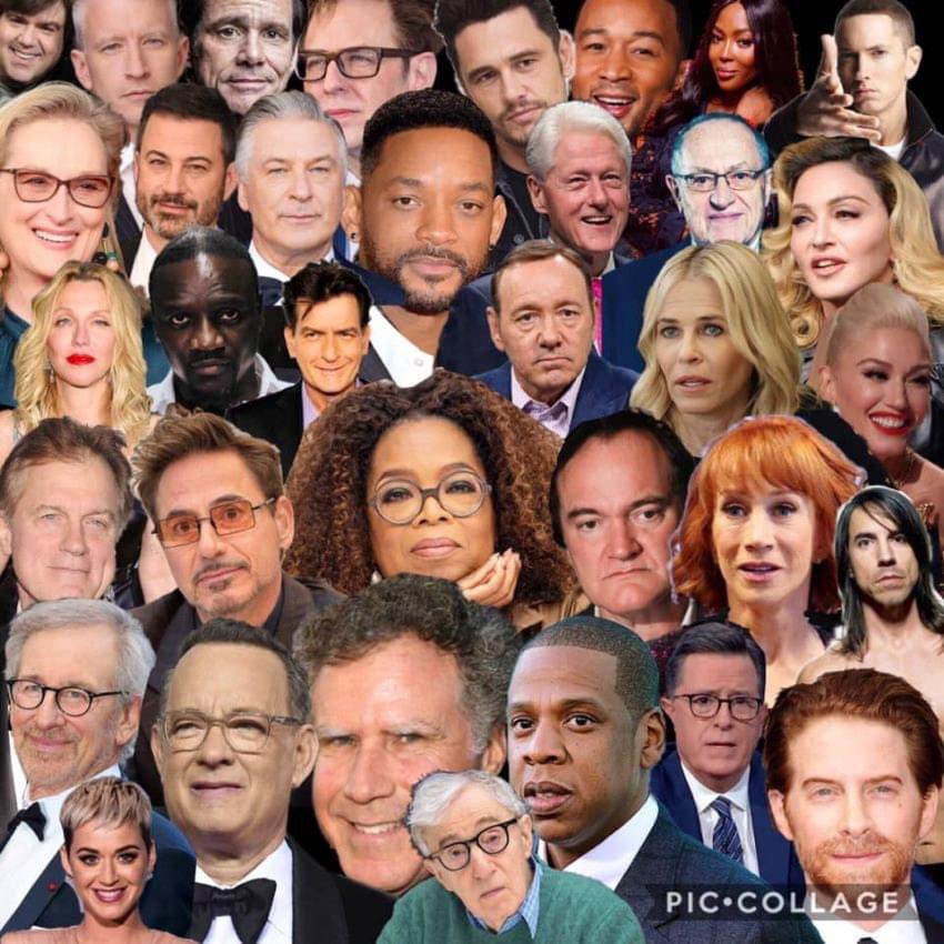 What do all of these faces have in common?