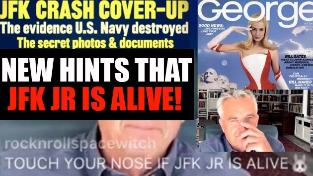 NEW Hints That JFK JR Is ALIVE!
