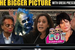 Mayor Beetlejuice, GESARA, LOL Surprise!, Ghislaine, Kamala – The BIGGER Picture with Gregg Prescott