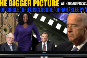 UFO Disclosure, Crazy Crop Circle, Sleepy Joe & More – The BIGGER :Picture with Gregg Prescott
