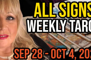 Weekly Tarot Card Reading Sep 28-Oct 4, 2020 by Alison Janes All Signs