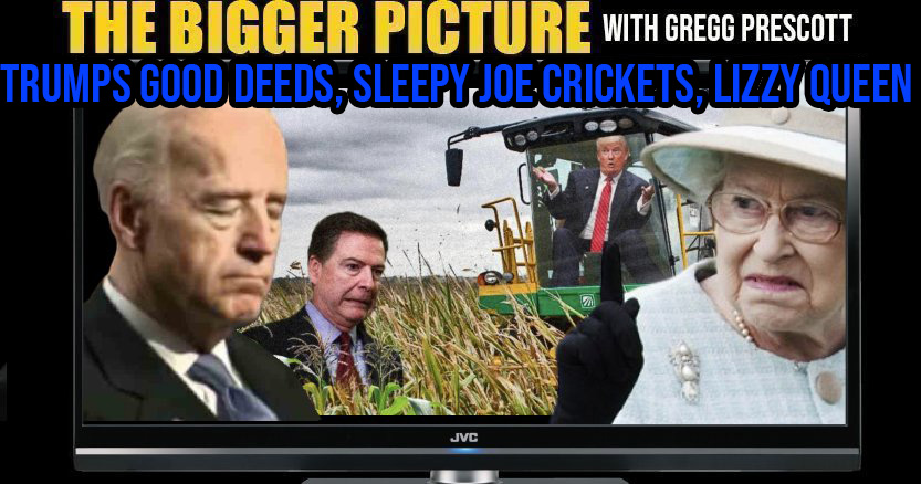 Trumps Surprise, Joe's Crickets, Lizzies Kids Evicted - The BIGGER Picture with Gregg Prescott
