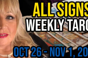 Weekly Tarot Card Reading Oct 26-Nov 1, 2020 by Alison Janes All Signs