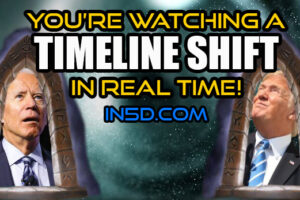 You're Watching A Timeline Shift In REAL TIME!
